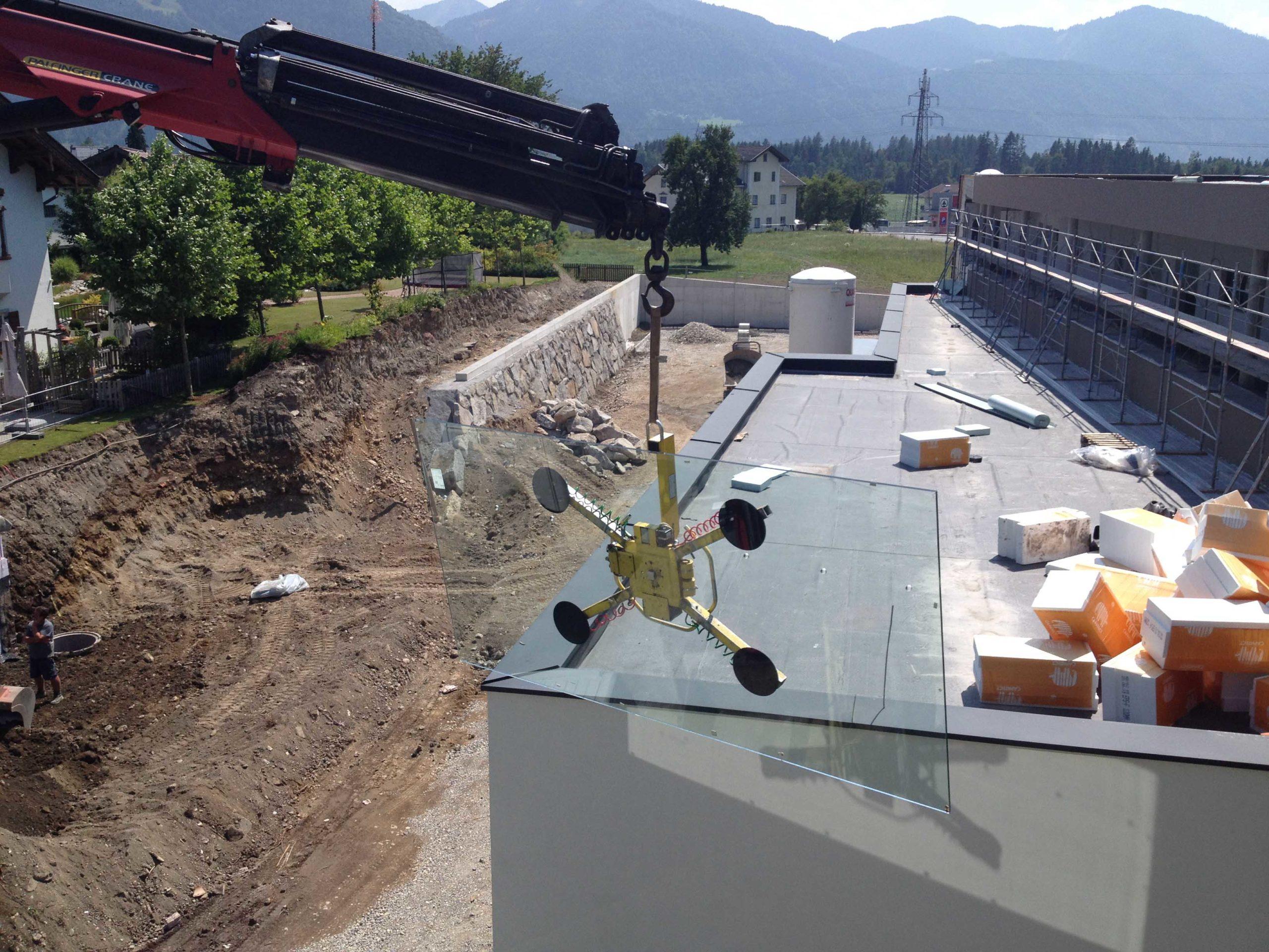 B&W Glasbau Verglasung Montage Fertigung Spezialisten Bau