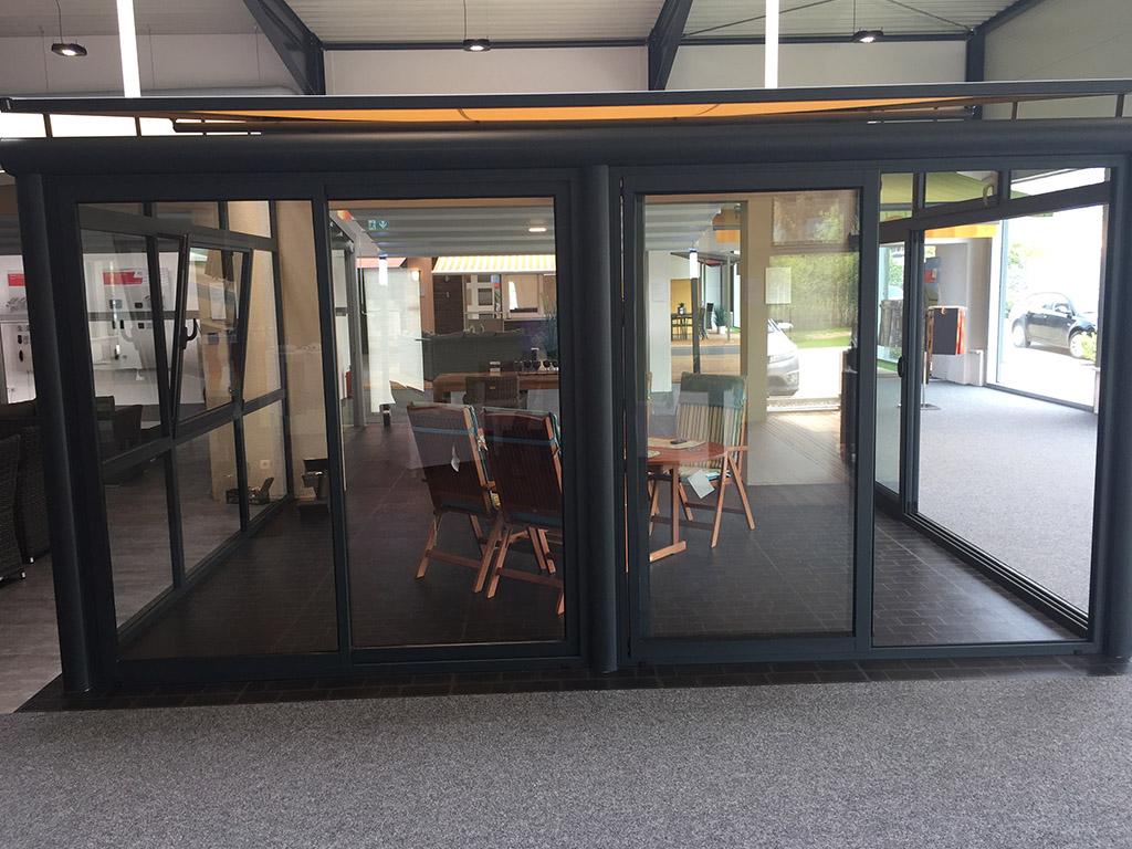 B&W Glasbau Alproda Terrassenüberdachung Balkonüberdachung Wintergarten Sonnenschutz