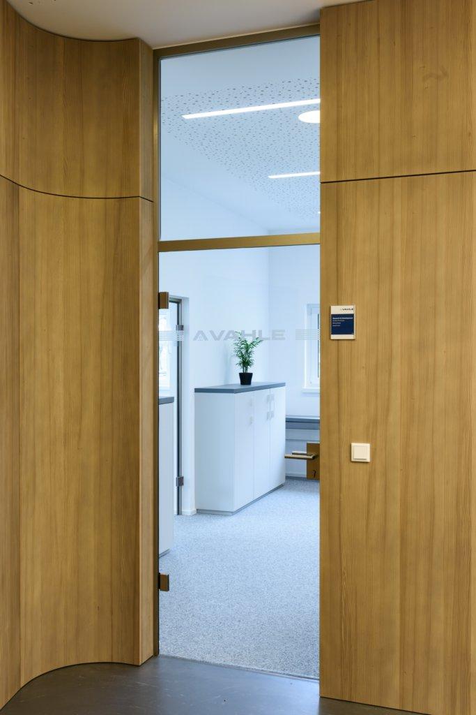 B&W Glasbau Glastür Glas Tür Einscheibensicherheitsglas