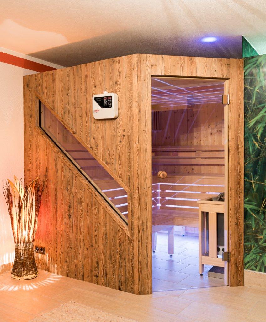 B&W Glasbau Glastür Saunatür Sauna Einscheibensicherheitsglas