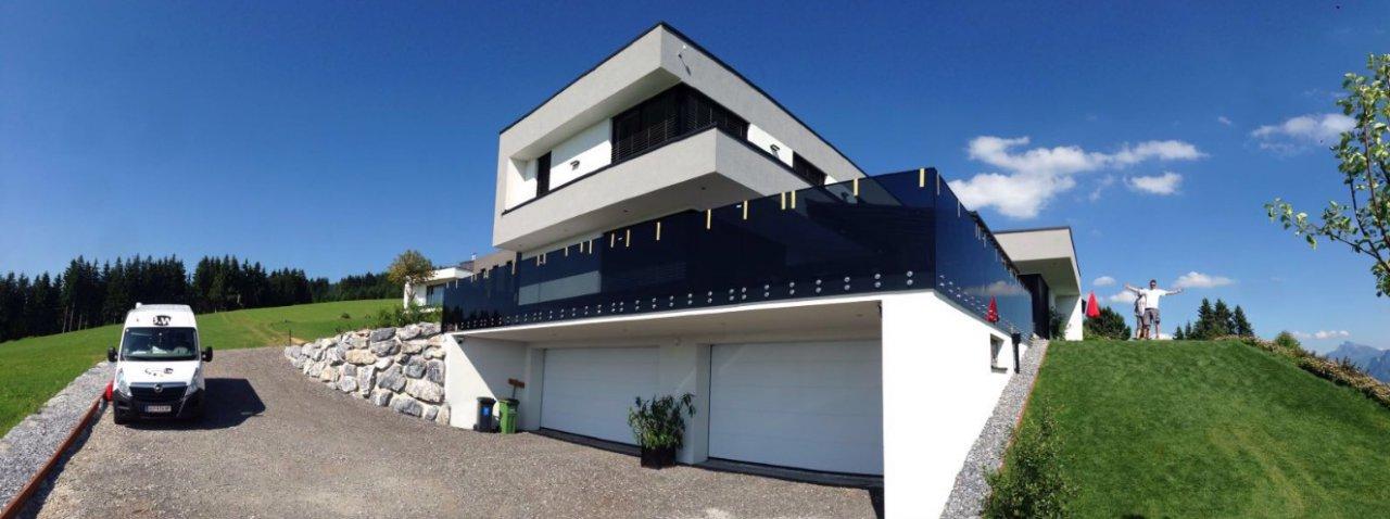 B&W Glasbau Verglasung Montage Spezialisten Bau Balkon