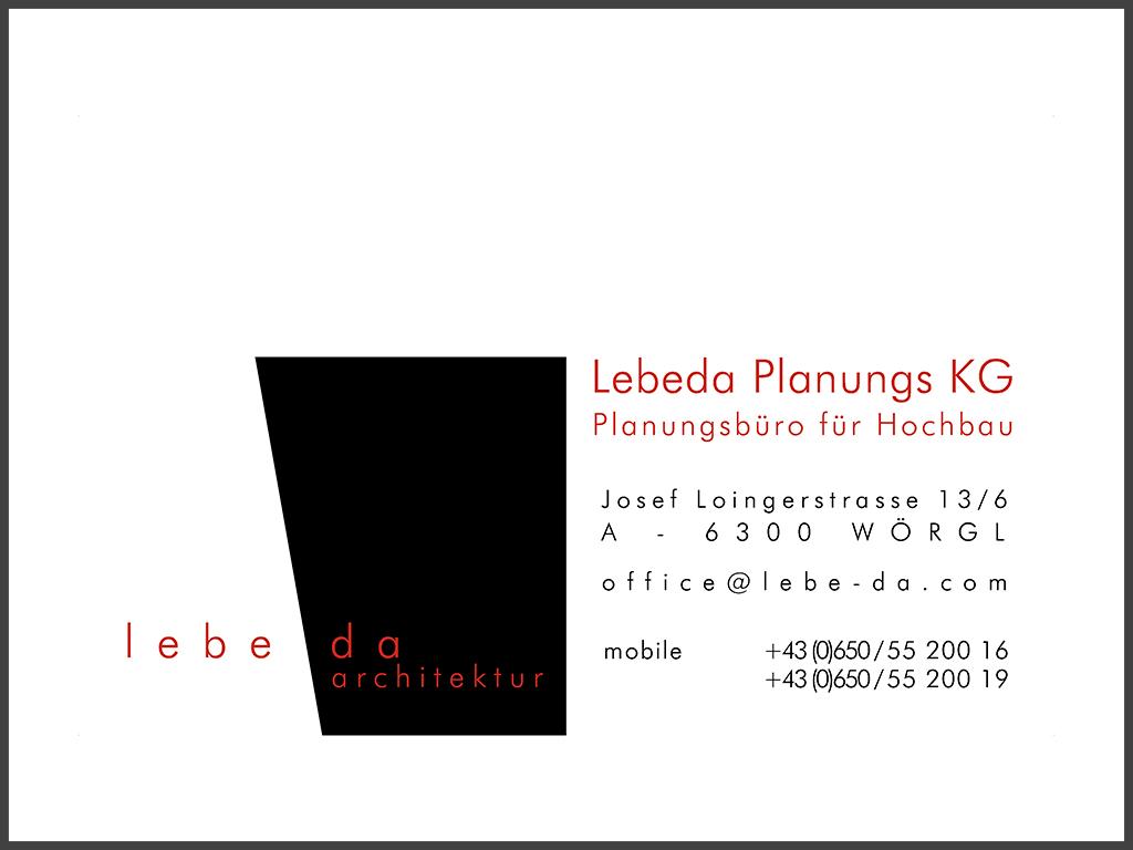 B&W Glasbau Kirchbichl Partner Lebeda Planungs KG