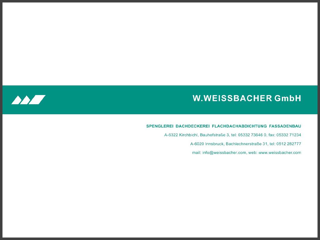 B&W Glasbau Kirchbichl Partner Weissbacher