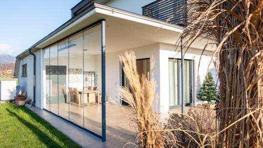 B&W Glasbau Kirchbichl Glasdach Dach Sicherheit Teilvorgespanntenglas