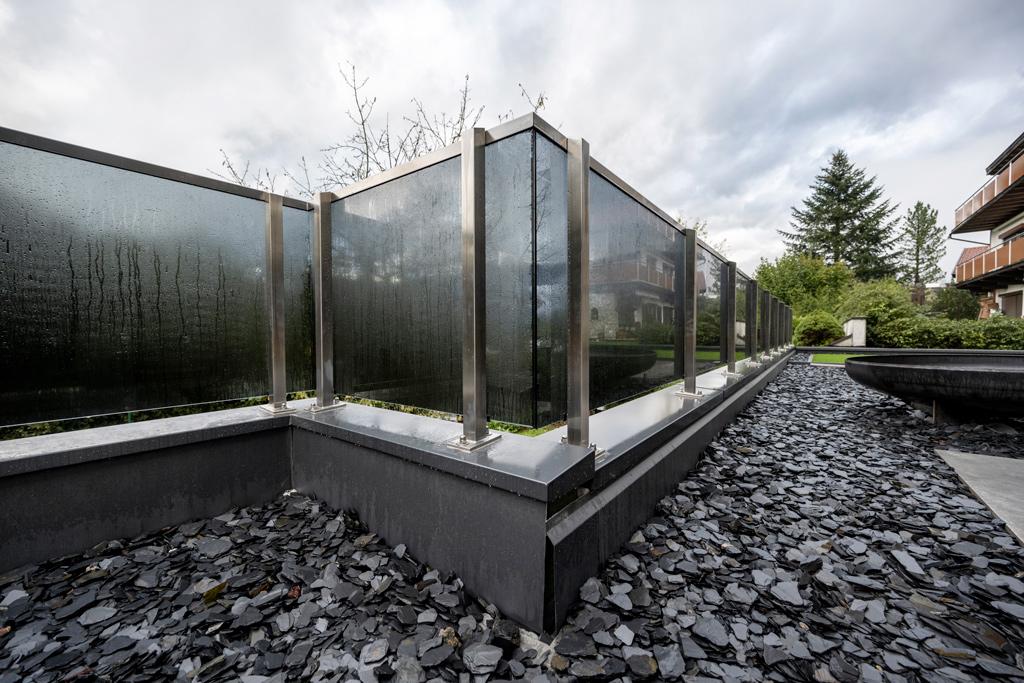 B&W Glasbau Kirchbichl Verglasung Brüstung Terrasse Sichtschutz