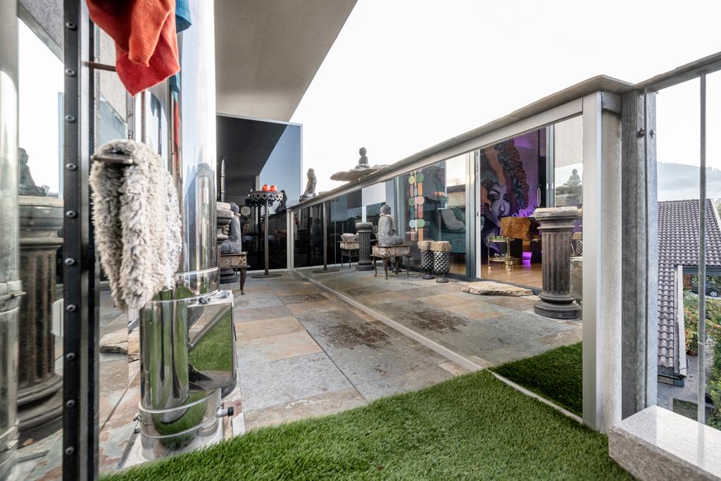 B&W Glasbau Kirchbichl Rückwand Verglasung Spiegel, Balkon, Brüstung, Sichtschutz, Trennwand