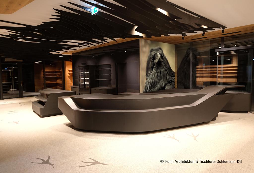 B&W Glasbau Kirchbichl Rückwand Verglasung