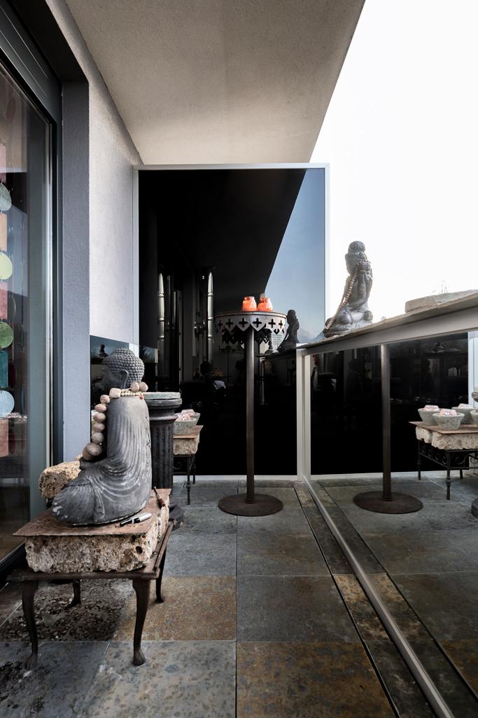 B&W Glasbau Kirchbichl Verglasung Balkon Trennwand Brüstung Sichtschutz